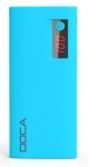 DOCA Portable Charger 13 000 mAh D566B blue, blue energy banks 13 000 mAh D566B