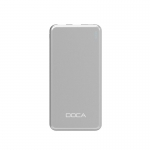 Silver mobile charger DOCA D607